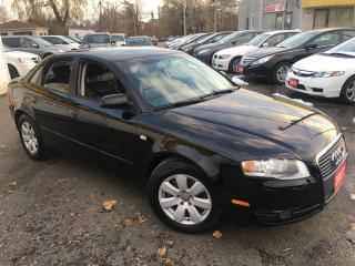 Used 2007 Audi A4 2.0T/ AUTO/ LEATHER/ ALLOYS! for sale in Scarborough, ON