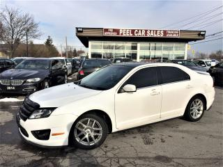 Used 2010 Ford Fusion SEL|LEATHER SEATS|HEATED SEATS|SUNROOF| for sale in Mississauga, ON