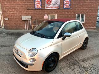 Used 2012 Fiat 500 Lounge/ONE OWNER/NO ACCIDENT/WARRANTY INCL for sale in Cambridge, ON
