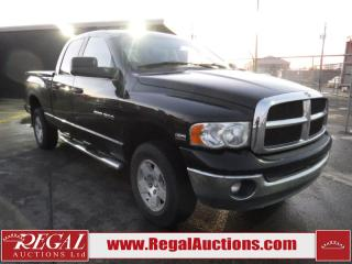 Used 2005 Dodge Ram 1500 SLT Crew Cab 4WD for sale in Calgary, AB
