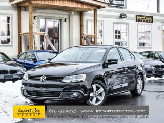 Used 2013 Volkswagen Jetta Diesel Comfortline ROOF H.SEATS ALLOYS WOW!! for sale in Ottawa, ON