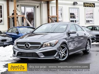 Used 2016 Mercedes-Benz CLA-Class 250 4MATIC AMG PACKAGE DYNAMIC SELECT AWD WOW!! for sale in Ottawa, ON