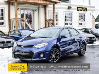 Used 2015 Toyota Corolla S 6SPD ROOF BK.CAMERA H.SEATS WOW!! for sale in Ottawa, ON