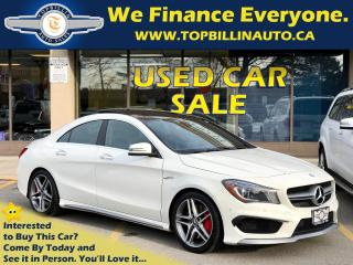 Used 2015 Mercedes-Benz CLA-Class CLA45 AMG 4MATIC, ACCIDENT FREE for sale in Vaughan, ON