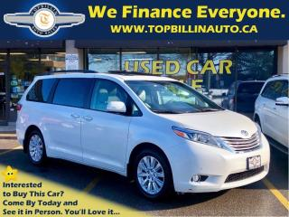 Used 2015 Toyota Sienna XLE LIMITED AWD, Navi, Fully Loaded for sale in Vaughan, ON