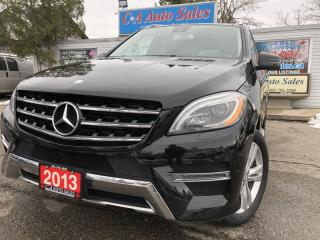 Used 2013 Mercedes-Benz ML-Class 4MATIC 4dr ML350 BlueTEC ACCIDENT FR blind spot lane  Assist for sale in Brampton, ON