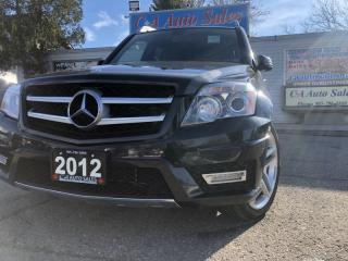 Used 2012 Mercedes-Benz GLK-Class 4MATIC 4dr AMG PKG NAVI BACK UP  Panorama  Sunroof for sale in Brampton, ON