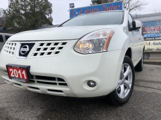 Used 2010 Nissan Rogue AWD 4dr SL with leather sunroof heated seats accident free for sale in Brampton, ON