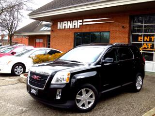 Used 2011 GMC Terrain SLT1 V6 Leather Rear Cam Heated Seats ONE OWNER for sale in Concord, ON