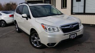 Used 2015 Subaru Forester 2.5i Limited for sale in Kitchener, ON