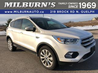 Used 2017 Ford Escape Titanium AWD for sale in Guelph, ON