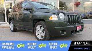 Used 2007 Jeep Compass Sport ** Manual, No Accident, Sunroof ** for sale in Bowmanville, ON