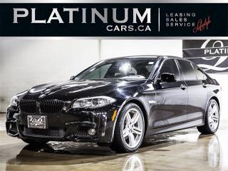 Used 2013 BMW 528 i xDrive, M-SPORT, NAVI, CAM, Leather for sale in Toronto, ON