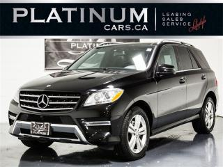 Used 2014 Mercedes-Benz ML 350 BlueTEC, NAVI, PANO, CAM, HEATED LTHR for sale in Toronto, ON