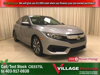 Used 2018 Honda Civic Sedan EX for sale in Calgary, AB