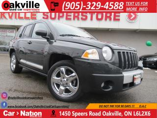 Used 2010 Jeep Compass Limited | SUNROOF | NAVI | ULTRA LOW KMS | for sale in Oakville, ON