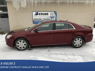 Used 2011 Chevrolet Malibu LT for sale in Rivière-Du-Loup, QC