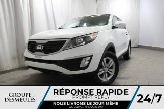 Used 2013 Kia Sportage LX + MANUELLE + FWD + 4CYL for sale in Laval, QC