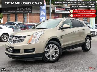 Used 2010 Cadillac SRX ACCIDENT FREE! LEATHER! WE FINANCE for sale in Scarborough, ON