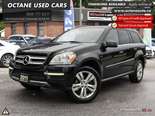 Used 2011 Mercedes-Benz GL-Class Accident Free! DIESEL! NAVI! Back up Cam! DVD! for sale in Scarborough, ON