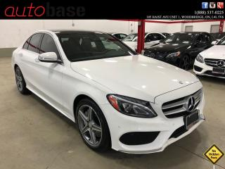 Used 2015 Mercedes-Benz C-Class C300 4MATIC PREMIUM PLUS SPORT CLEAN CARFAX for sale in Vaughan, ON