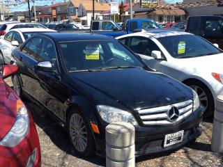 Used 2009 Mercedes-Benz C-Class 4dr Sdn 2.5L 4MATIC for sale in Scarborough, ON
