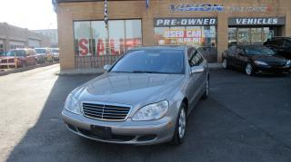 Used 2006 Mercedes-Benz S-Class 430 4MATIC/NAVIGATION/SUNROOF/CLEAN CAR PROOF for sale in North York, ON