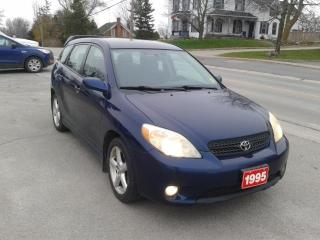 Used 2005 Toyota Matrix @ Ronnie B's BLOOMFIELD 613-393-3336 for sale in Madoc, ON