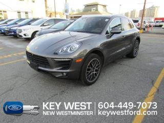 Used 2018 Porsche Macan S AWD Sunroof Leather Nav Cam Heated/Cooled Seats for sale in New Westminster, BC