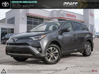 Used 2016 Toyota RAV4 Hybrid XLE ONE OWNER, BOUGHT HERE, TOYOTA SERVICED! for sale in Orangeville, ON