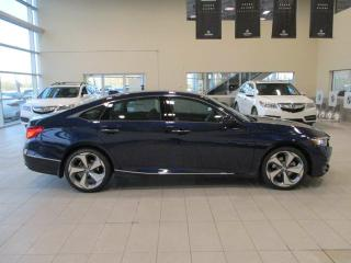 New 2019 Honda Accord Sedan Touring 2.0 Remote Start Navigation Heated Leather for sale in Red Deer, AB