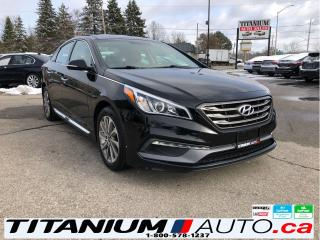 Used 2015 Hyundai Sonata Sport-Camera-Pano Roof-Leather Power Heated Seats- for sale in London, ON
