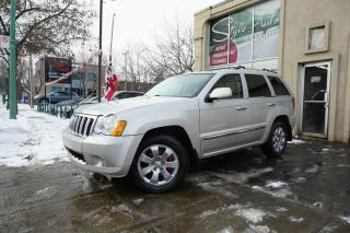 Used 2008 Jeep Grand Cherokee 4 RM 4 portes Overland for sale in Laval, QC
