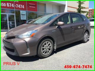 Used 2015 Toyota Prius V * GPS, SIÈGES CHAUFFANTS * for sale in Longueuil, QC
