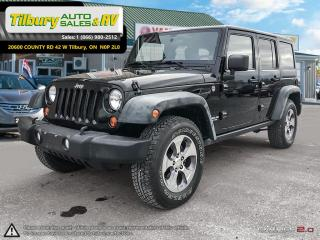 Used 2011 Jeep Wrangler RUBICON *Nav, Bluetooth, Hard & Soft Top* for sale in Tilbury, ON