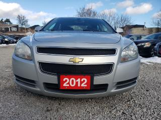 Used 2012 Chevrolet Malibu V6/LEATHER HEATED SEATS/CHROME WHEELS/AUX/NICE! for sale in Scarborough, ON