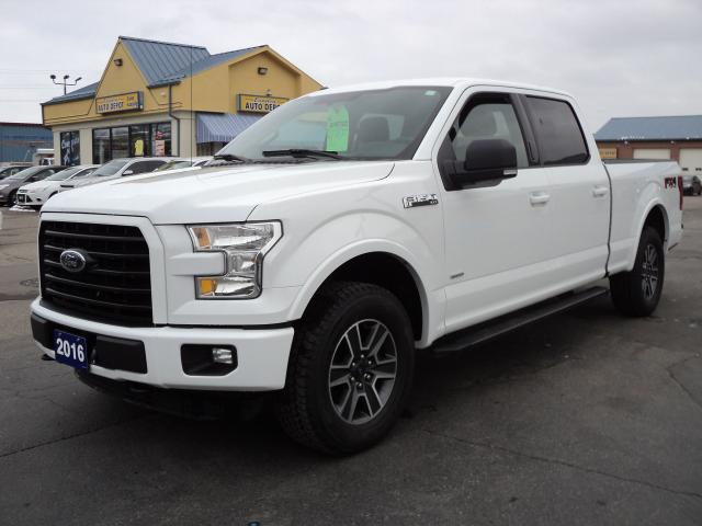 2016 Ford F-150 XLT SuperCrew 4x4 FX4 3.5L Ecoboost 6ft Box