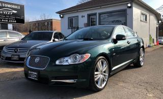 Used 2009 Jaguar XF Premium Luxury BACK-UP CAM NAVI NO ACCIDENT for sale in Mississauga, ON