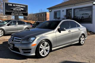 Used 2012 Mercedes-Benz C 300 C300 AWD 4MATIC NAVI BACK-UP CAM PANO NO ACCIDENT for sale in Mississauga, ON