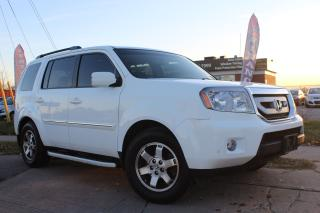 Used 2010 Honda Pilot Touring NAV CAM Leather Sunroof 8Seats for sale in Oakville, ON