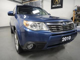 Used 2010 Subaru Forester 2.5 L,AWD,ONE OWNER,ALL SERVICE RECORDS for sale in North York, ON