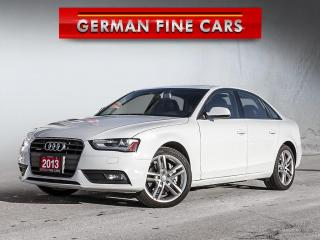 Used 2013 Audi A4 **2.0T PREMIUM QUATTRO**NAVIGATION, BLUETOOTH** for sale in Bolton, ON