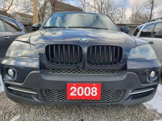 Used 2008 BMW X5 4.8i/LEATHER HEATED SEATS/BLUETOOTH/PANORAMIC ROOF for sale in Scarborough, ON