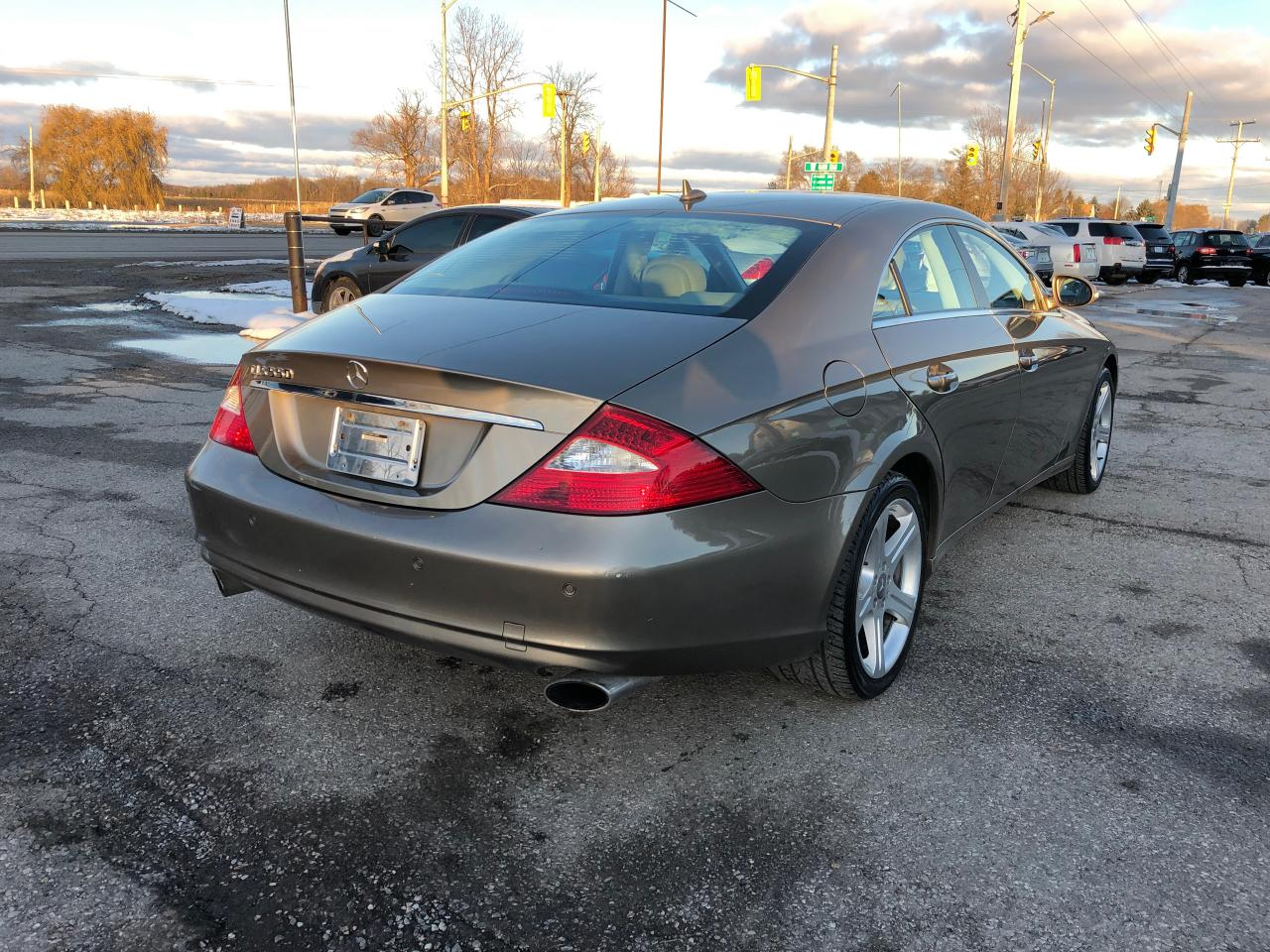 Used 2008 Mercedes Benz Cls Class Cls550 55l For Sale In Komoka Rims