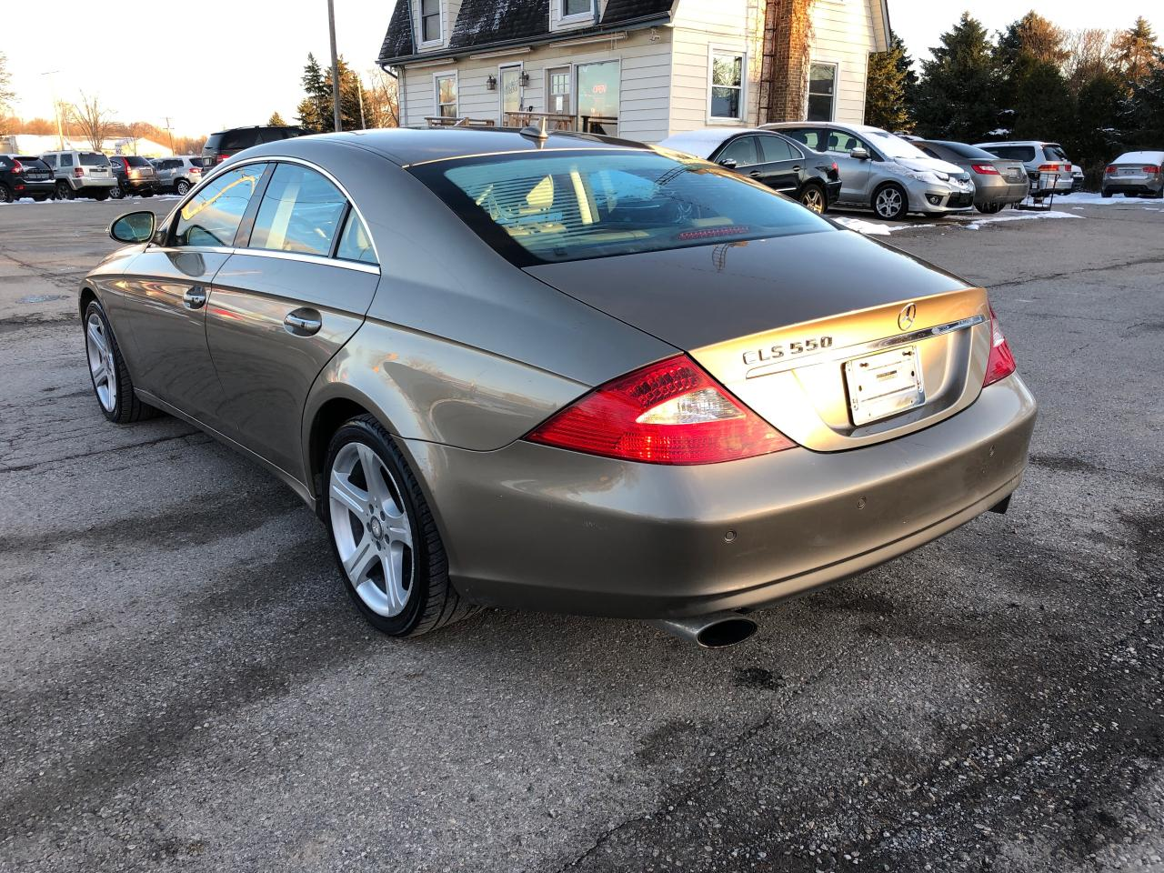 Used 2008 Mercedes Benz Cls Class Cls550 55l For Sale In Komoka Rims 519 666 2800