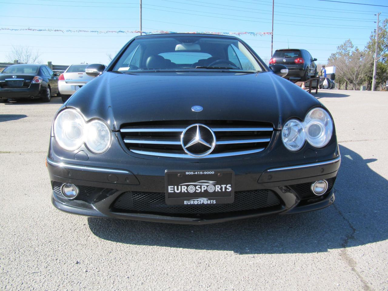 2009 Mercedes-Benz CLK550