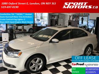 Used 2011 Volkswagen Jetta Comfortline TDI *DIESEL* Touch Screen+New Tires for sale in London, ON