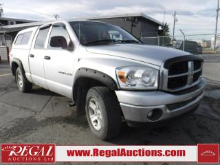 Used 2007 Dodge Ram 1500 SLT 4D Crew CAB 4WD for sale in Calgary, AB