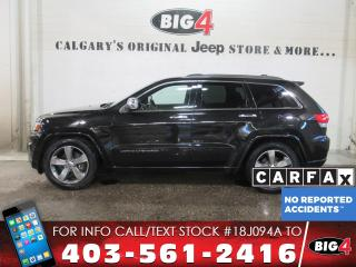 Used 2014 Jeep Grand Cherokee Overland for sale in Calgary, AB