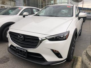 New 2019 Mazda CX-3 GT AWD for sale in North Vancouver, BC